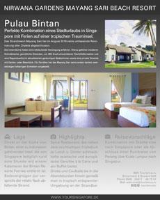 Im Jahr 2018 komplett renoviert: Mayang Sari Bintan © B&N Tourismus