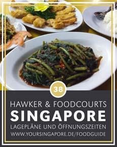 Singapore Foodguide Adressen, Lageplan und Öffnungszeiten © B&N Tourismus