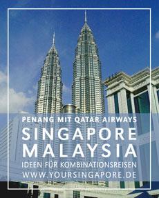 Reisetipps Kombination Singapore Malaysia © B&N Tourismus